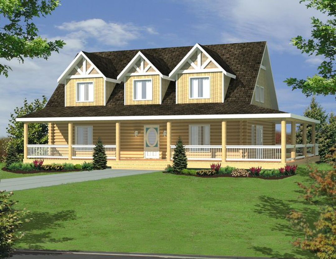 Country Home Plan 001-1078